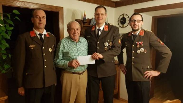 Hans Siegl ist 85 Jahr
