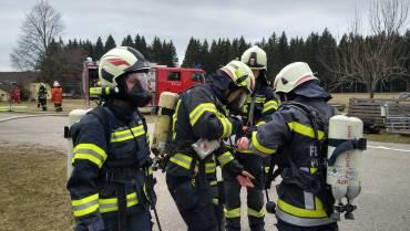 Brandeinsatz Pürstling