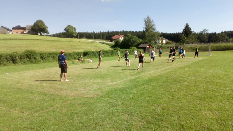 Internes Völkerballturnier