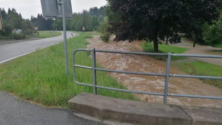 Technischer Einsatz Sturmschaden – Überflutungen