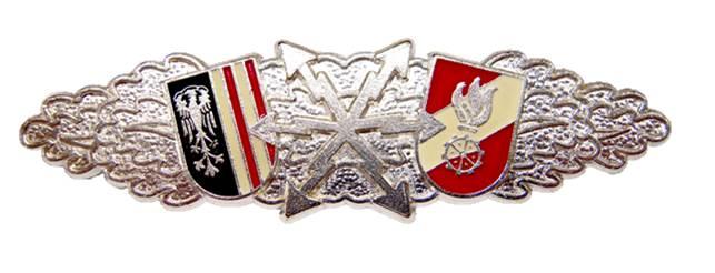 Funkleistungsabzeichen in Silber